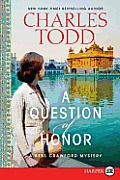 Question of Honor a Bess Crawford Mystery