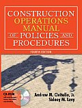 Construction Operations Manual of Policies & Procedures With CDROM