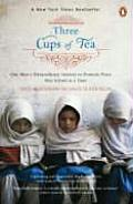 Three Cups of Tea One Mans Mission to Promote Peace One School at a Time