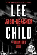 Midnight Line A Jack Reacher Novel Large Print
