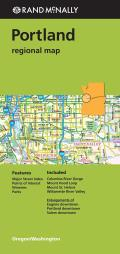 Rand McNally Portland Regional Map