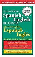 Merriam Websters Spanish English Dictionary