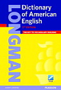 Longman Dictionary Of American English Paperback With Pin