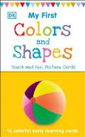 My First Touch & Feel Picture Cards Colors & Shapes