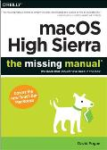 macOS High Sierra The Missing Manual The book that should have been in the box