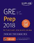 GRE 2018 Strategies Practice & Review with 4 Practice Tests Online + Book