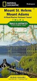 National Geographic Trails Illustrated Map||||Mount St. Helens, Mount Adams [Gifford Pinchot National Forest]